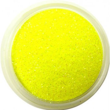 Neon Yellow Glitter by CALLACosmetics on Etsy