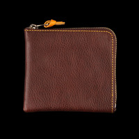 UNIONMADE - Beams+ - Zip Wallet in Dark Brown