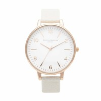 Large White Face Mink  – Vintage inspired fashion watches by Olivia Burton