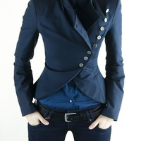 ON SALE DIna Jacket- Navy-