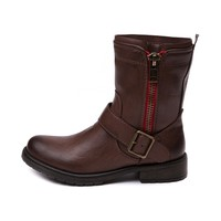 Womens Madden Girl Brawl Boot, Brown, at Journeys Shoes