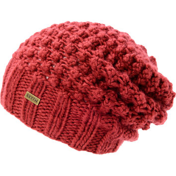 Brixton Girls Patsy Rust Red Slouch Beanie at Zumiez : PDP