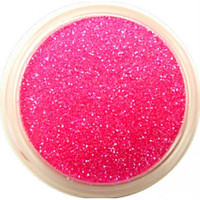 Neon Pink Glitter by CALLACosmetics on Etsy