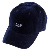 Men's Hats: Whale Logo Corduroy Hat - Vineyard Vines