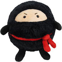 Mini Squishable Ninja: An Adorable Fuzzy Plush to Snurfle and Squeeze!