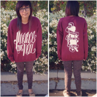 Pierce The Veil Collide With The Sky Crewnecks
