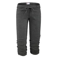 Soffe Solid Capris Sweatpants - Juniors