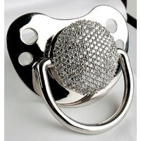 3ct Diamond Pacifier (278 Pave Set Diamonds)