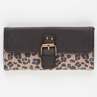 T-SHIRT & JEANS Cheetah Print Wallet