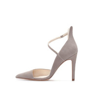 ASYMMETRIC SUEDE COURT SHOE - Woman - New this week | ZARA United States