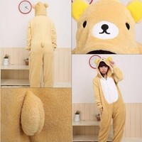Hot New Kigurumi Pajamas Anime Cosplay Costume unisex Adult Onesie Dress