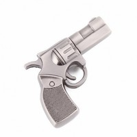 High Quality 8 GB Metal Gun shape USB Flash drive:Amazon:Computers & Accessories