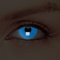 iD Lenses Blue Glow In The Dark Contacts