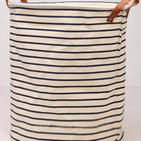Big size Draw string Laundry clothes bin/ cotton anad linen bin/Laundry storage bin p142