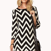 Striking Zigzag Sweater Dress | FOREVER 21 - 2000050616