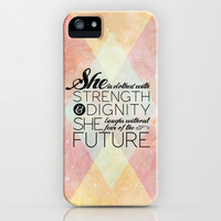 Proverbs 31 She is...  iPhone & iPod Case by Pocket Fuel