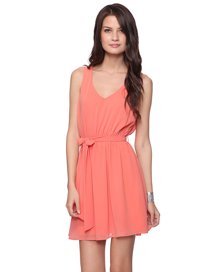 Sleeveless Dress w/Sash | FOREVER21 - 2000035770