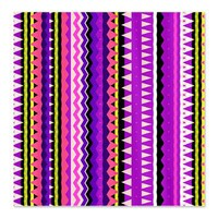 Forever Young #2, Purple Aztec Queen Duvet> Shower Curtains> Ornaart
