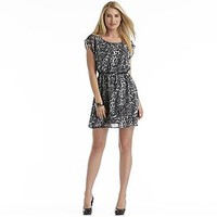 Metaphor- -Junior's Animal Print Dress-Clothing-Juniors-Dresses