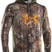 Under Armour Men's Charged Cotton Camo Antler Hoody