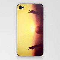 Peace Out iPhone & iPod Skin by Skye Zambrana | Society6