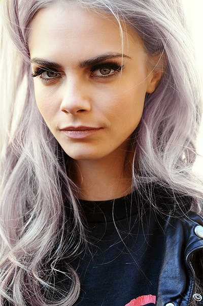 Silver Hair Chalk Hair Chalking Pastels From
