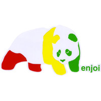 ENJOI Rasta Panda Sticker