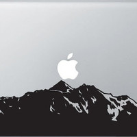 mountain Macbook Decal Mac book Stickers Macbook Decals Apple Decal for Macbook Pro / Macbook Air / iPad / iPad2 / ipad3/ iPhone 4/4S