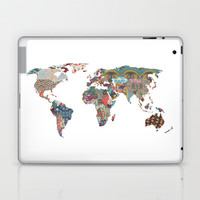 Louis Armstrong told us so Laptop & iPad Skin by Bianca Green