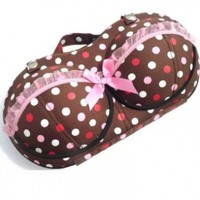 Color Dots Portable Protect Bra Underwear Lingerie Case Travel Organizer-colored Dots:Amazon:Home & Kitchen