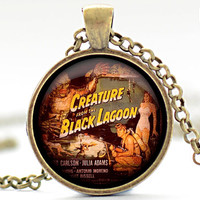 Creature from the Black Lagoon Necklace Horror by FrenchHoney