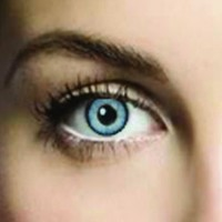 Mesmereyez Crystal Blue Coloured Contacts (Comfort)