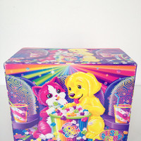 Vintage Lisa Frank Jewelry Box