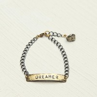 Free People Etched Plate Bracelet