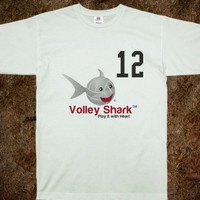 Volley Shark volleyball jersey cover-up