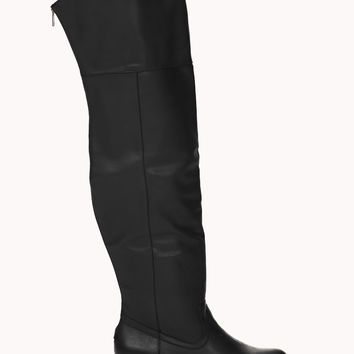 Runaround Over-the-Knee Boots