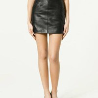 LEATHER MINISKIRT - Skirts - Woman - New collection - ZARA United States