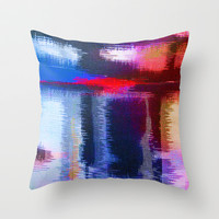 Splat Fabric Throw Pillow by Good Sense
