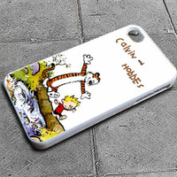 Custom iPhone 4 case, iPhone 5 case, Samsung galaxy case, Samsung Galaxy s3 , Samsung Galaxy s4 case,Calvin & Hobbes Apple