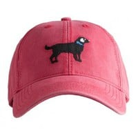 NEW! H-L Black Dog©  on Weathered Red - Harding Lane
