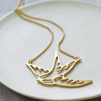 swallow necklace by posh totty designs boutique | notonthehighstreet.com