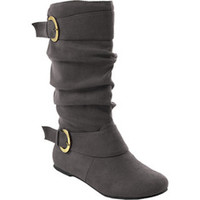 Adi Designs Buckle Accent Slouchy Boot