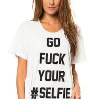 The Selfie Oversized Tee