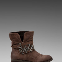 Steven Tracker Boot in Taupe Distressed Leather from REVOLVEclothing.com