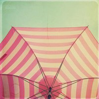 pink and white umbrella print by Simply Hue - $24.99 : ShopRuche.com, Vintage Inspired Clothing, Affordable Clothes, Eco friendly Fashion