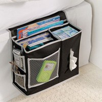 6 Pocket BEDSIDE Storage Mattress BOOK remote caddy NEW