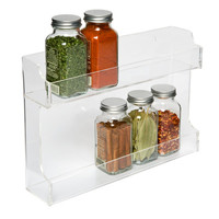 Double Acrylic Spice Rack