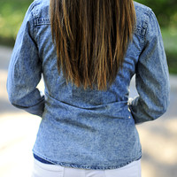 On The Trend In Denim Top: Denim | Hope's