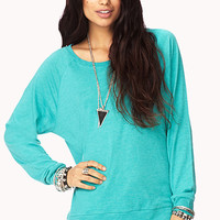 Basic Raglan Top | FOREVER 21 - 2002246241
