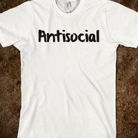 ANTISOCIAL SHIRT